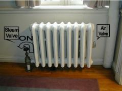 one pipe steam radiator