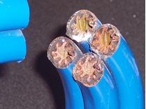 cutaways tube in tube heat exchanger