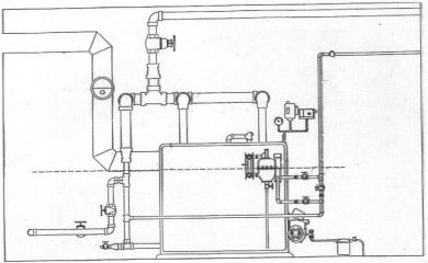 steam boiler  steam boiler piping diagram