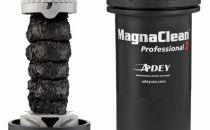 Adey MagnaCleanPro2 filter with sludged magnet