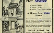 Out west 1902 Solar water heater advert