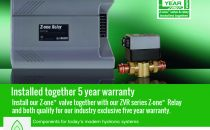 PR Caleffi Z one Exclusive 5 yr Warranty