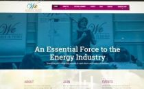 WomenInEnergy NewWebsite Screenshot