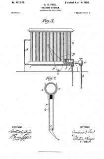 AG Paul Heating System Patent