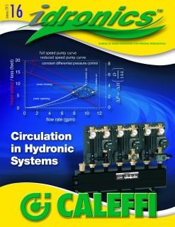 PR Caleffi Releases 16th Edition of idronics
