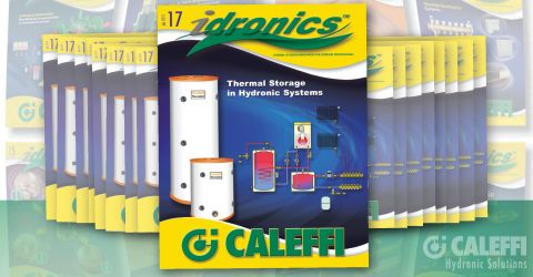 PR Caleffi Releases 17th Edition of idronics
