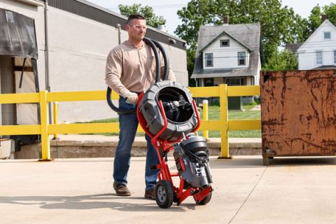 RIDGID k5208 transport cart