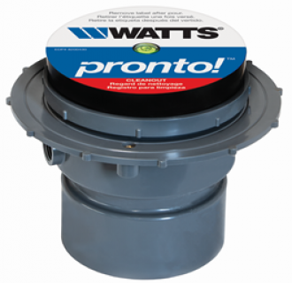 Watts Pronto PVC Adjustable Cleanout