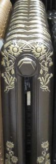 bronze and highlight gold painted cast iron radiators 3 25543 p