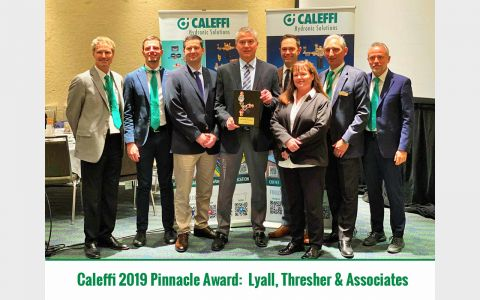 caleffi pinnacle award