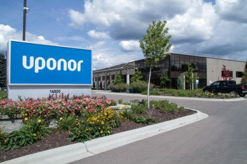 uponor leed building