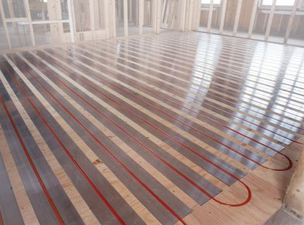 Rehau launches rauboard radiant heating panel to offer for Radiant heat flooring options