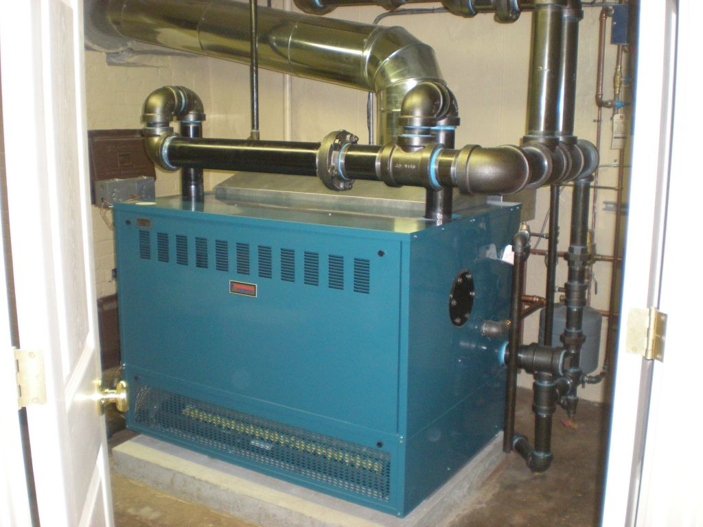 Steam Boiler: Burnham Steam Boiler